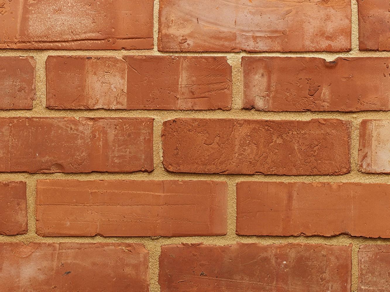 Victorian Orange Wirecut Bricks 65mm