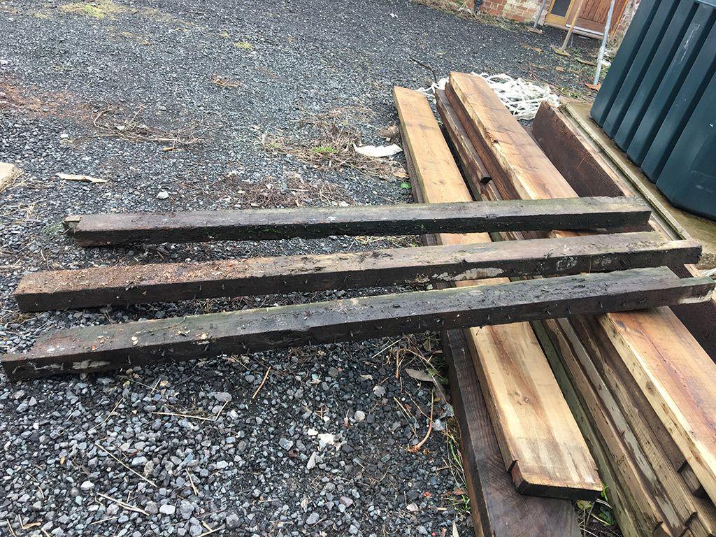 Reclaimed Oak Beams Rafters