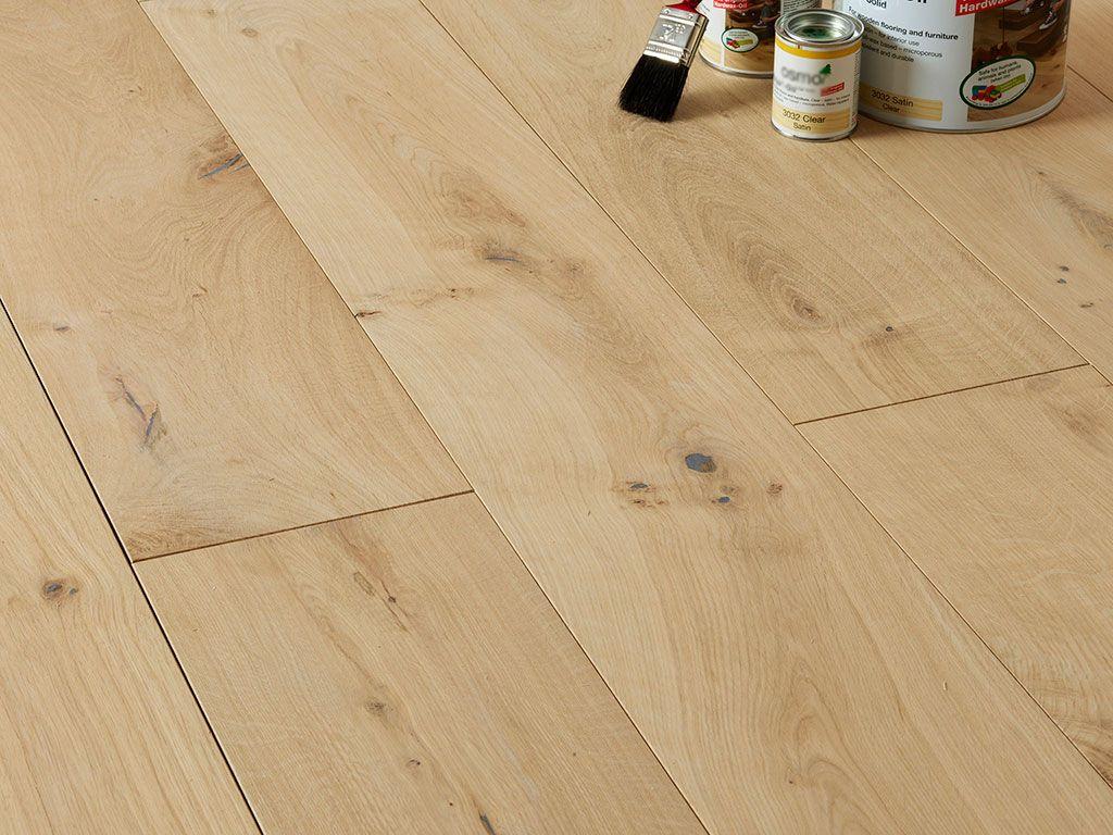 Blenheim Multi Ply Engineered Oak Flooring Unfinished