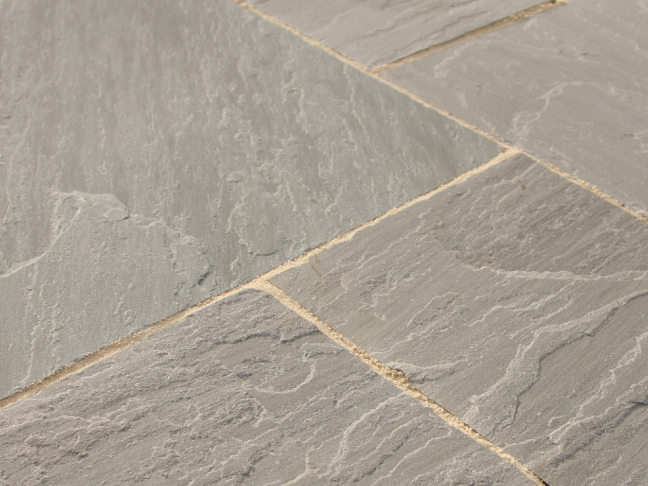 Light Grey Natural Indian Sandstone