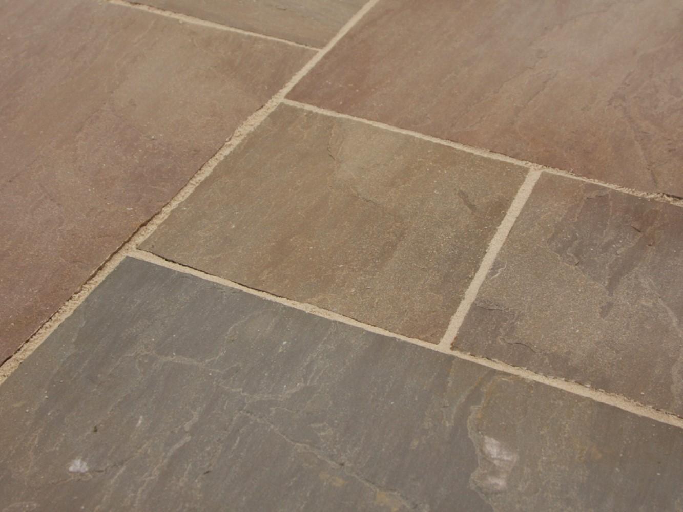 Raj Blend Natural Indian Sandstone Choice Of Hand Split