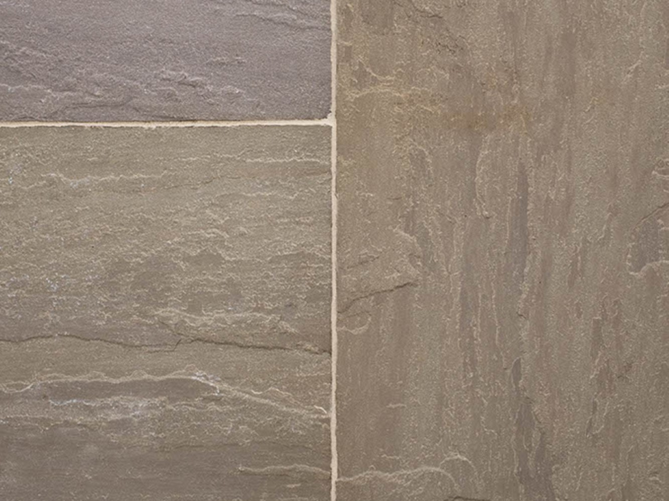 Raj Blend Natural Indian Sandstone Choice Of Hand Split