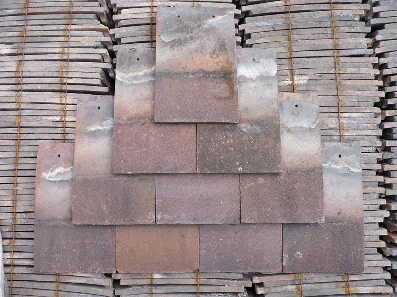 Reclaimed Machine Made Roof Tiles