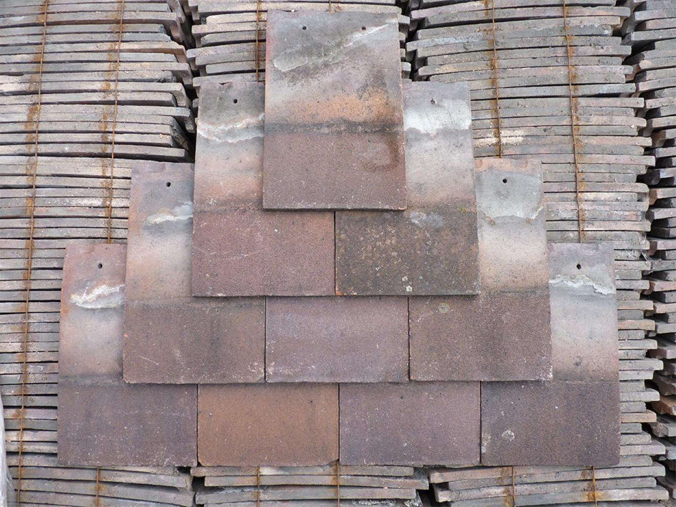 Reclaimed Handmade Red Roof Tiles