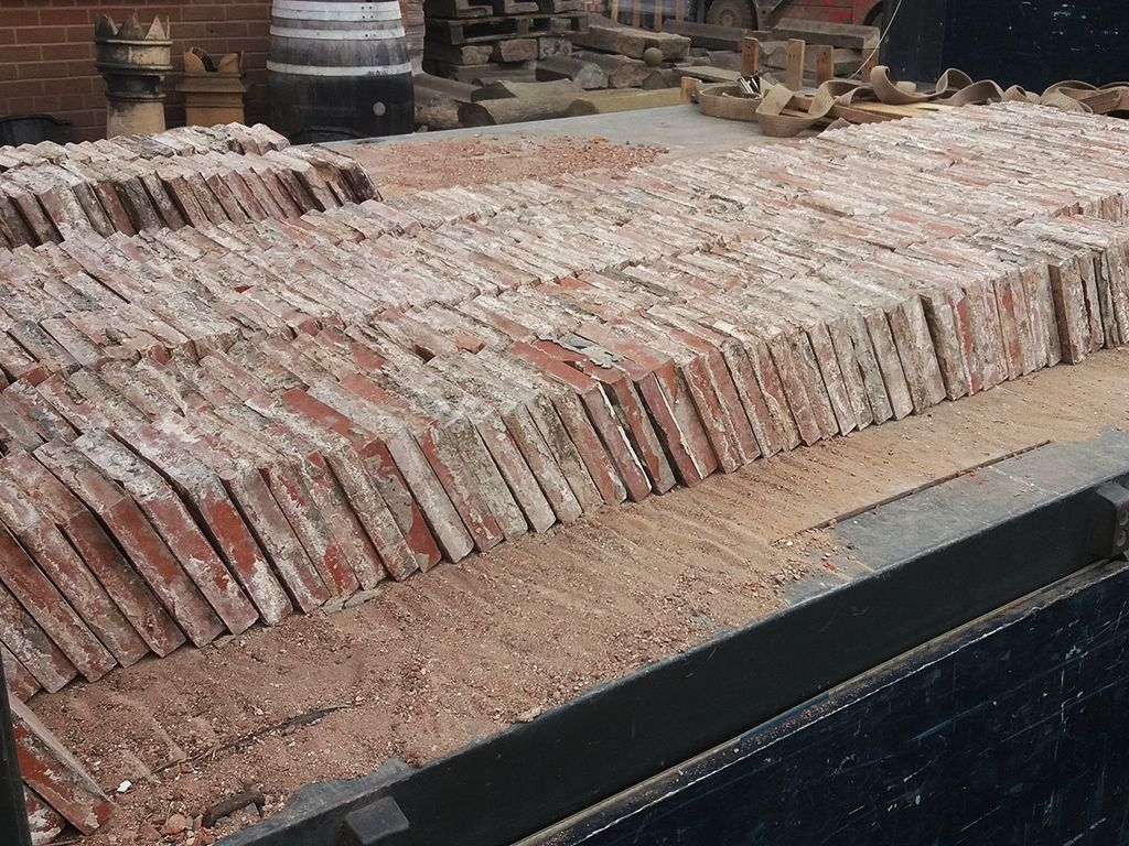 Reclaimed Red Quarry Tiles 6x6 Quot
