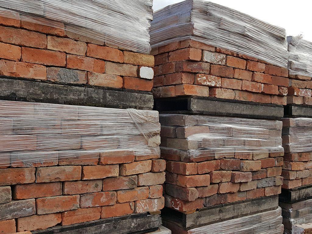 Reclaimed Handmade Bricks from Selly Oak