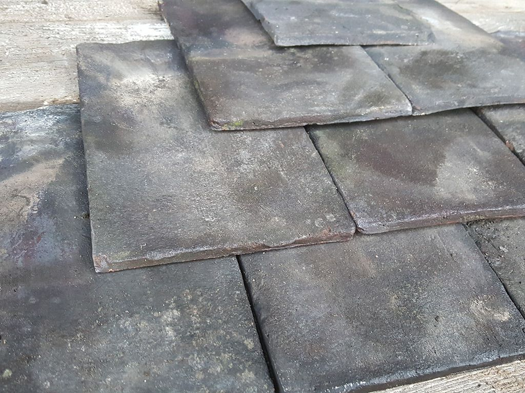 Reclaimed Handmade Staffordshire Blue Roof Tiles