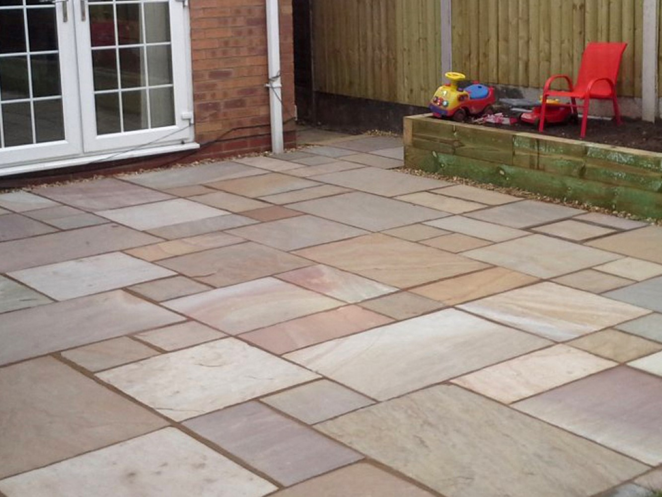 Rippon Natural Indian Sandstone Choice Of Hand Split Or