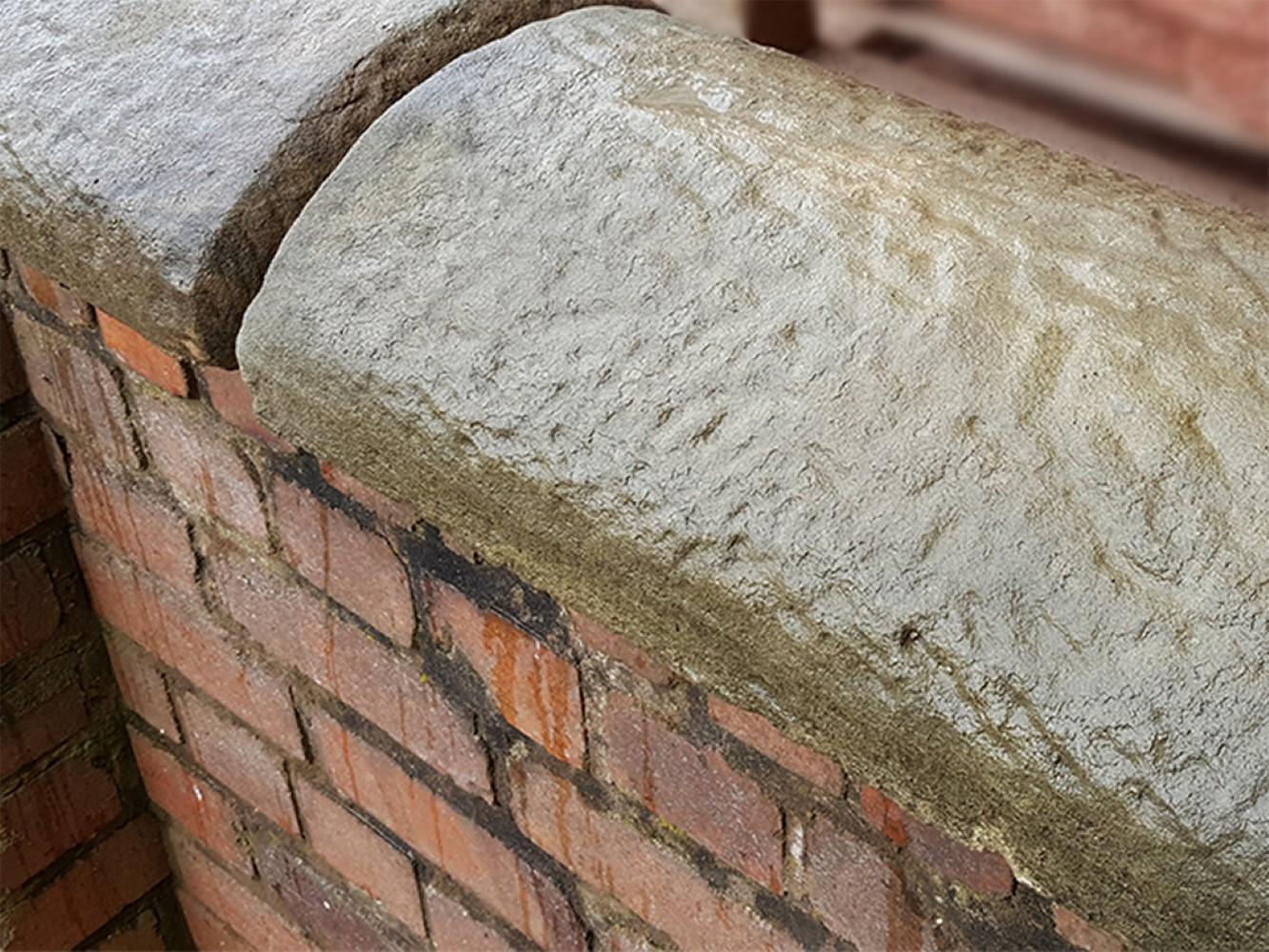Reclamation Half Round Concrete Coping