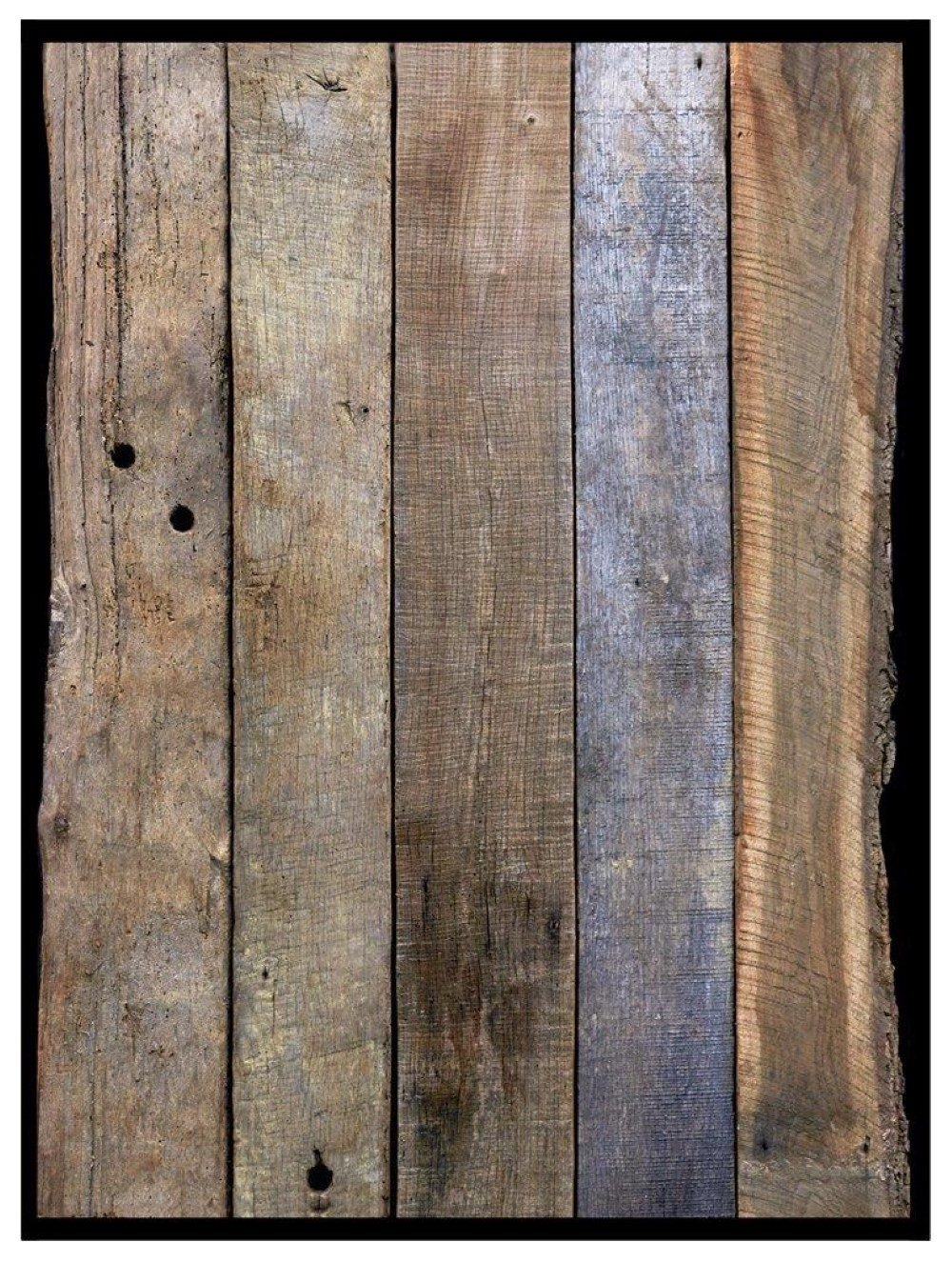 Reclaimed Oak Cladding Weathered