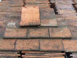 Reclaimed Machine Made Acme Red Roof Tiles - Smooth