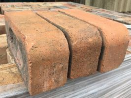 Reclaimed Birmingham Single Bullnose Bricks