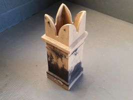 Reclaimed Buff Bishop Chimney Pot