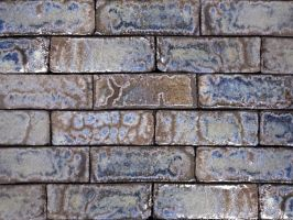 Azurite Glazed Brick Tiles