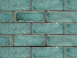 Amazonite Glazed Brick Tiles