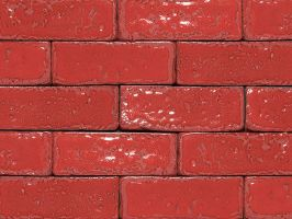 Ruby Glazed Brick Tiles