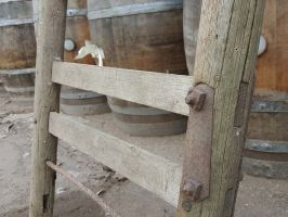 Reclaimed Brown Hay Ladder
