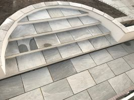 Light Grey Natural Indian Sandstone - Single Size 900 x 600mm