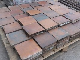 Reclaimed Red/Brindle Quarry Tiles