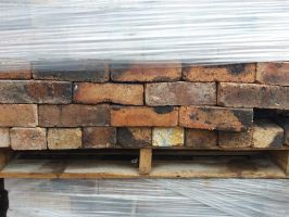 Reclaimed 75mm Pressed Common Bricks from Stoke