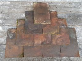 Reclaimed Shropshire Barn Handmade Roof Tiles