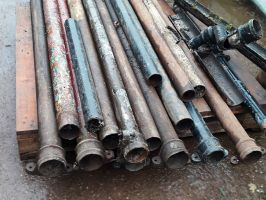 Reclaimed Cast Iron Downpipes
