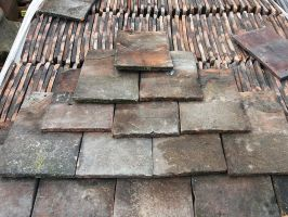 Reclaimed Handmade Roof Tiles