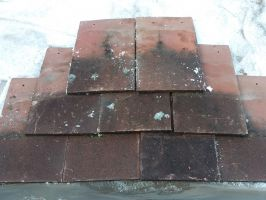 Reclaimed Machine Made Acme Red Roof Tiles - Sand Faced