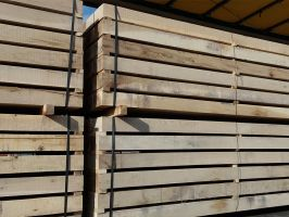 New Grade A Oak Railway Sleepers