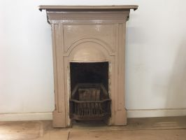 Reclaimed Cast Iron Fireplace Surround