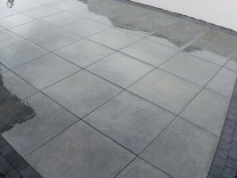 Eclipse Black Porcelain Flooring & Paving - 600 x 600mm