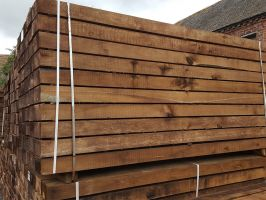 New Hardwood Railway Sleepers