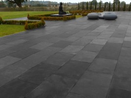 Kota Black Natural Indian Limestone - Single Size 900 x 600mm