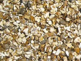 Gold Flint Chippings 20mm