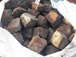Reclaimed Mixed Colour Granite Cobbles / Setts - Cubes