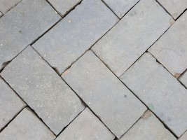 Reclaimed Blue Pavers