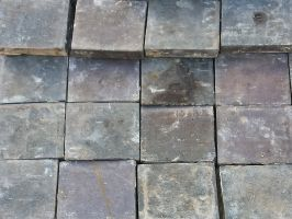 Reclaimed Blue Quarry Tiles 7x7