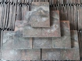 Reclaimed Machine Made Broseley Brindle Roof Tiles - Smooth