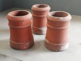 Reclaimed Cannon Chimney Pots