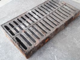 Reclaimed Cast Iron Slotted Air Brick