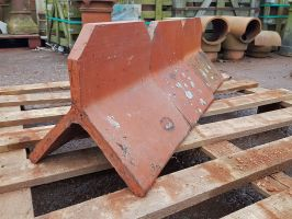 Reclaimed Dennis Ruabon Plain Crested Ridge Tile - 6