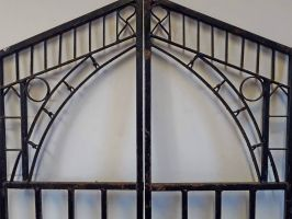 Reclaimed Cast Iron Gates from Ironbridge