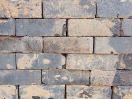 Reclaimed Solid Blue Bricks from Nottingham