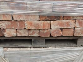 Reclaimed Pressed Common Bricks from Nottingham