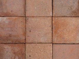 Reclaimed Red Quarry Tiles 6x6