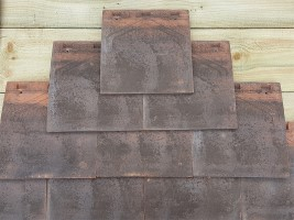 Reclamation Machine Made Gable Tiles (Tile & Half)