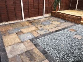 Copper Slate Paving