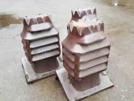 Reclaimed Vented Decorative Chimney Pot