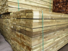 New Softwood Railway Sleepers 50mm