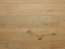 Timbertop Engineered Hardwood Flooring - Brushed, Limed White - 2130/2450 x 14/3 x 190mm